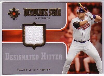 2007 Ultimate Collection Ultimate Star Materials #TH Travis Hafner JERSEY