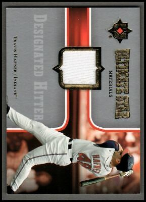 2007 Ultimate Collection Ultimate Star Materials #TH2 Travis Hafner JERSEY