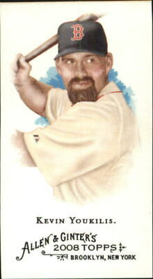 2008 Topps Allen and Ginter Mini #350 Kevin Youkilis - NM-MT