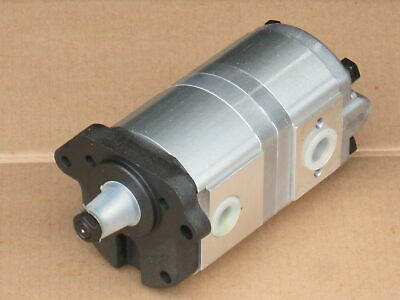 Tandem Power Steering Pump For Massey Ferguson Mf 383 384 390 390T 393 394 394S