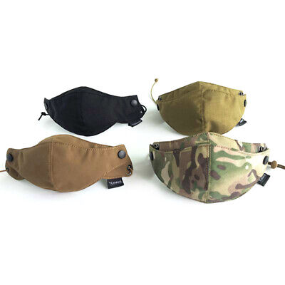 Cordura Half Face Mask Tactical Protective Gear Camouflage Multicam Mask Cycling