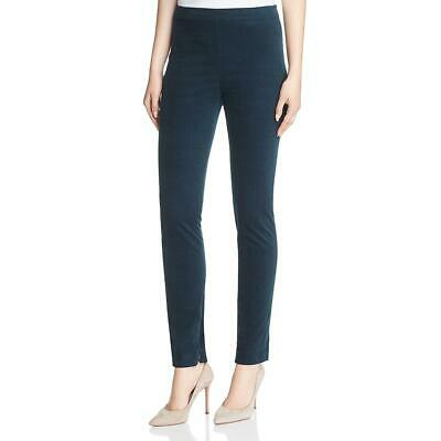 Theory Womens Green Corduroy High-Rise Workwear Leggings 00 BHFO 1961