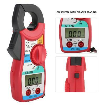 KT87N High Precision Digital Clamp Meter Multimeter Resistance with Test Leads