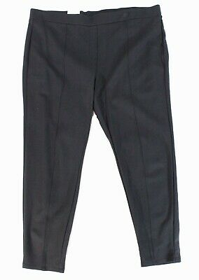 Style & Co. Women's Pants Gray Size 20W Plus Mid-Rise Pull On Stretch $49 #354