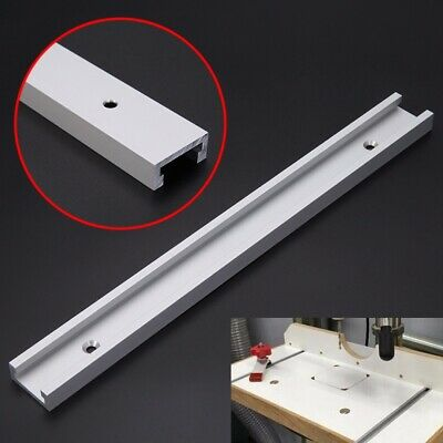 300mm T-track T-slot Router Table Saw Aluminum Alloy Slot Woodworking Tool