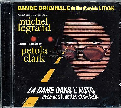 "Michel Legrand ""THE LADY IN THE CAR WITH GLASSES AND A GUN"" score CD SEALED"