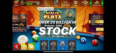 8 Ball Pool Coins 100M | 500 | 1 BILLION + Plus Bonus  INSTANT DELIVERY (24H)