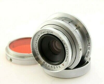 Rodenstock Heligon 35mm F2.8 A Lens for Leica Screw Mount. Rare - UK Seller