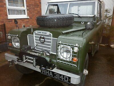 land rover classic series 2a 88