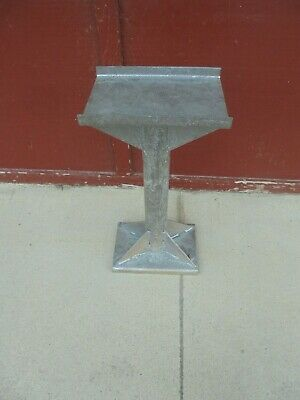 "26"" iron stand blacksmith's anvil grinder industrial decor #2"