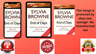 End Of Days Predictions And Prophecies By Sylvia Browne (PDF Book)