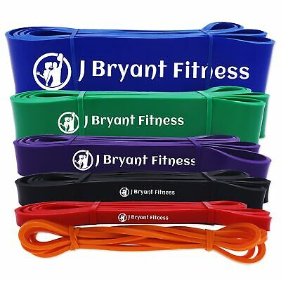 208cm Pull Up Fitness Power Band Gym Equipment Expander Resistance Rubber Band