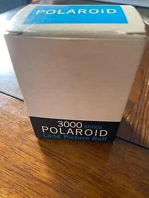 Polaroid Type 37 Vintage Film Land Picture Roll Expired 1966 8 Black & White