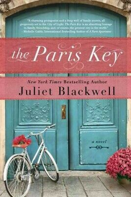 Paris Key, Paperback by Blackwell, Juliet, Like New Used, Free shipping in th...