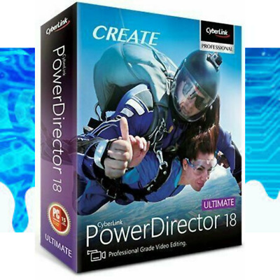 CyberLink PowerDirector Ultimate 18 | Fast Delivery | Lifetime License