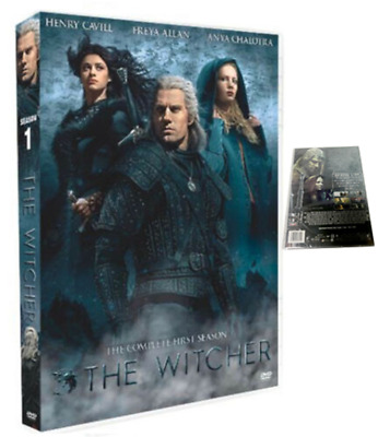 THE WITCHER DVD Brand New The Complete First Season Sealed Free Shipping Fast