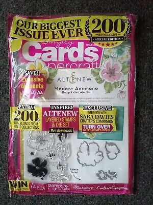 BRAND NEW SIMPLY CARDS & PAPERCRAFT MAGAZINE Issue 200 RRP $19.99