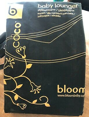 Bloom Coco Baby Lounger Bouncer Timber