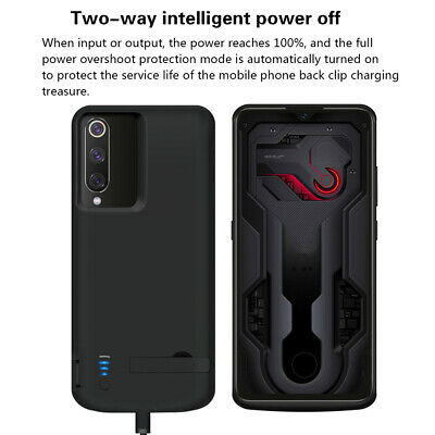 For Xiaomi Mi 9 Battery 5000mAh Charger Case External Backup Power Bank Cover