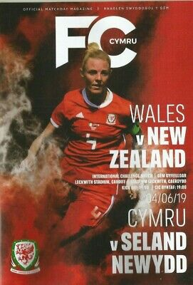 WALES v NEW ZEALAND  June 2019  WOMEN