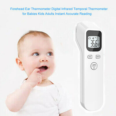 Baby Kids Forehead Body Thermometer Digital IR Infrared Termometer Non-Contact