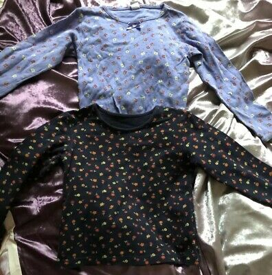 Kids Girls Marks & Spencer 2 Item Bundle Long Sleeve Tops T-shirts 5-6 years