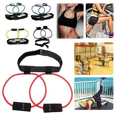 40LB Resistance Band Waist Pull Bounce Leg Training Pedal Device Belt Pull Rope