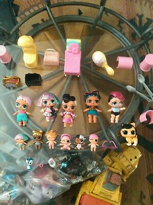 LOL Dolls - Lot of 11x Figures - Includes Accessories
