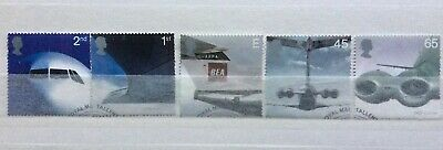 2002:- 'JET AVIATION'  COMMEMORATIVE SET  (Used) FROM 1st DAY COVER
