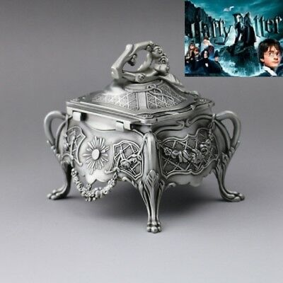 Vintage Design Tin Alloy Music Box : ♫ Harry Potter Hedwig's Theme Soundtrack ♫
