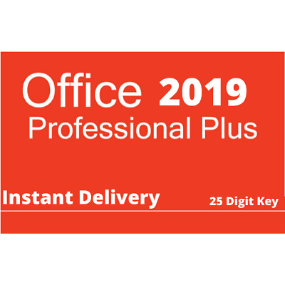 Microsoft Office 2019 Professional Plus Key ✔️Fast Delivery✔️Win 10 ✔️