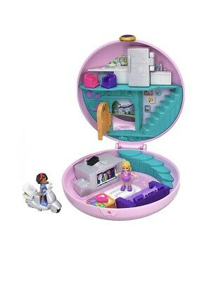 Polly Pocket Donut Pajama Party compact Play set