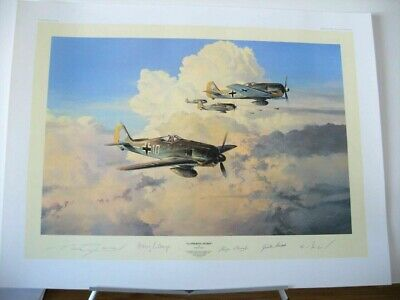 Aviation Art Prints L//E Giclee on Paper Bretschneider/'s End by Jim Laurier