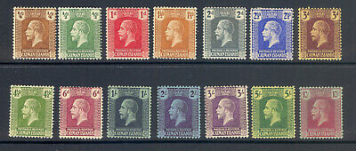 Gambia Sg 69-83 1922 Gv Definitive Set Of 15 M/M