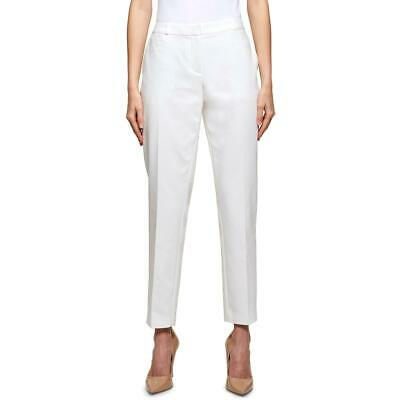 Tommy Hilfiger Womens Radcliffe Ivory Slim Leg Ankle Pants Trousers 6 BHFO 8377