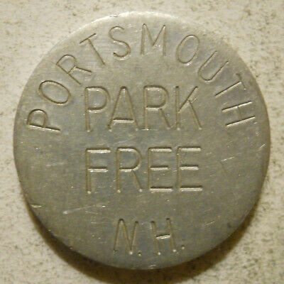 City of Portsmouth (New Hampshire) parking token - NH3820A
