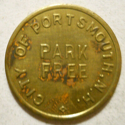 City of Portsmouth (New Hampshire) parking token - NH3820B