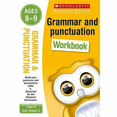 Grammar and Punctuation Year 4 Workbook (Scholastic Eng - Paperback NEW Christin