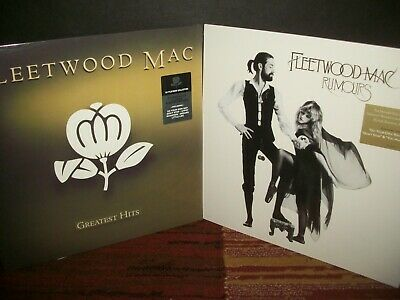 Lot: 2 FLEETWOOD MAC LPs - Greatest Hits / Rumours - New SEALED re-issue vinyl