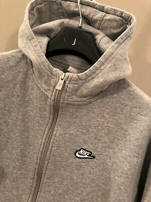 Boys/Youths Nike Hoodie Tracksuit Top Sports Training Zip Up Jacket Age 13/15