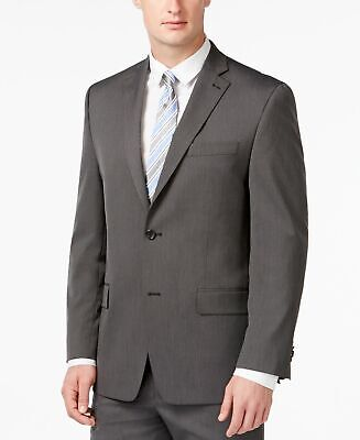 Michael Kors NEW Gray Mens Size 38 R Two Button Blazer Sportcoat $425 #306