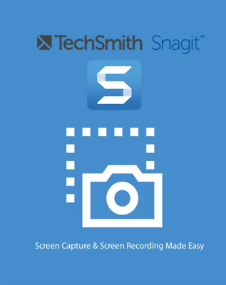 Techsmith Snagit 2020 Key | Full version | Lifetime License | For Windows Only