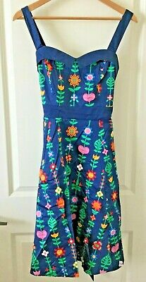 Size Large New Disney Parks Dress Shop It/'s A Small World Blue Dress