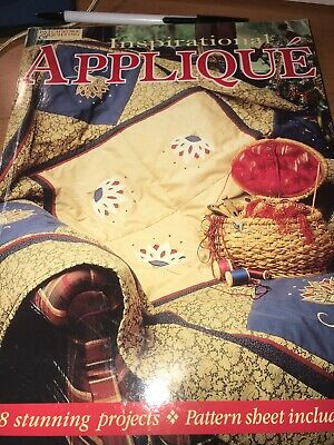 craft book - INSPIRATIONAL APLLIQUE - include master pattern sheet
