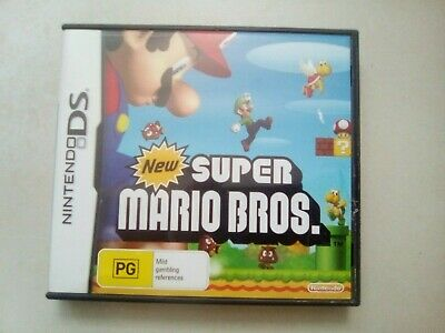 New Super Mario Bros Game for Nintendo DS 2DS 3DS