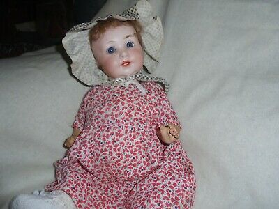 Antique Bisque German Armand Marseille 329 Charactor baby 13 inches