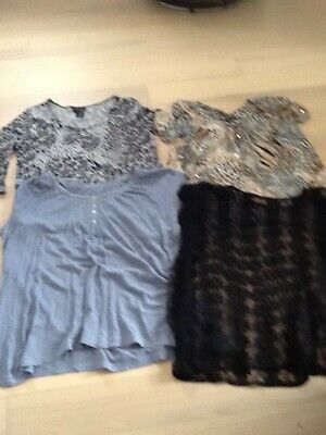 Bundle of 4 tops size 22