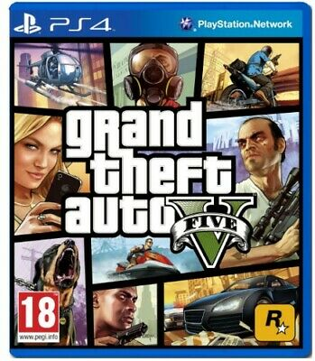 GTA 5 | Grand Theft Auto V | PS4 | Excellent Condition | FAST & FREE DELIVERY
