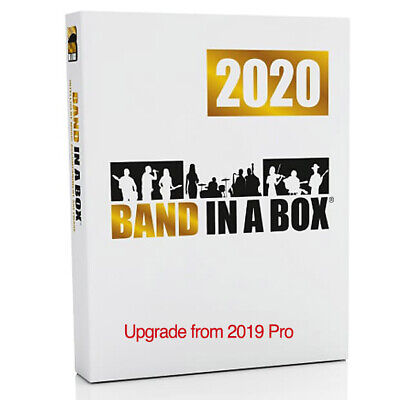 PG Music Band in a Box Pro 2020 MAC, upgrade from  2019