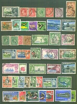 Commonwealth JAMAICA Used Stamp Selection.